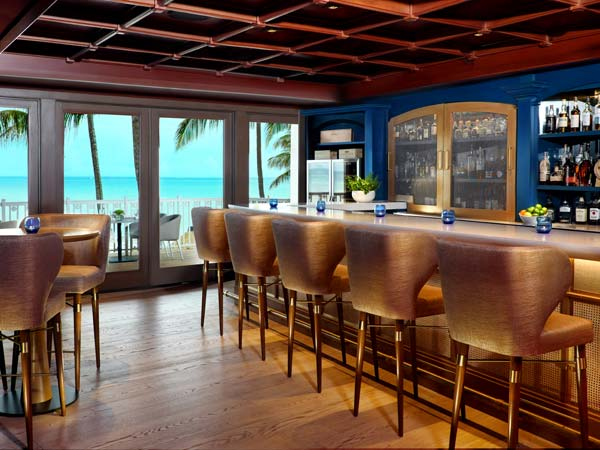 Private bar at La Playa Beach and Golf Resort