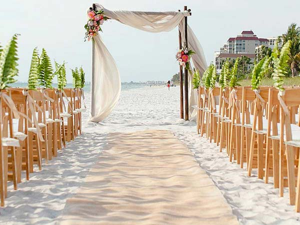 North Beach Wedding Ceremony in Naples, FL